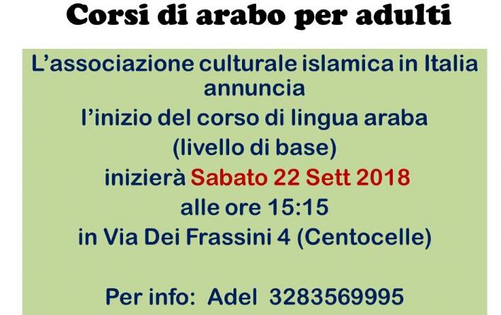 corsi arabo roma